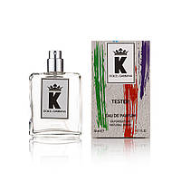 Чоловічий міні-парфуми Dolce&Gabbana K By Dolce&Gabbana (Дольче габбана До) 50 мл тестер (репліка)