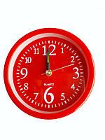 Будильник кварцевый Jia Xing Красный, КОД: 116746