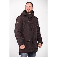 Мужская осенняя куртка коричневого цвета Camel Active 420264-27
