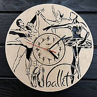 Концептуальные настенные часы 7Arts Балет CL-0378, КОД: 1474525
