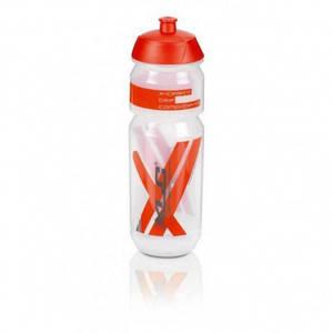 Фляга XLC WB-K03, 750 мл, прозоро-червоний