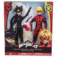 Набор кукол Miraculous Lady Noir и Mister Bug серии Леди Баг и Супер Кот SKL52-239512
