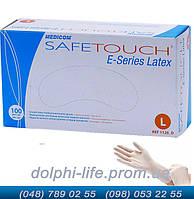 Перчатки латексные Medicom SafeTouch припудренные нестерильные 100 шт в упаковке