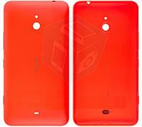 Задняя панель корпуса для Nokia Lumia 1320, c боковыми кнопками, оранжевый, оригинал