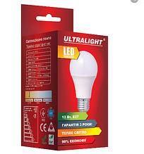 Лампа LED зв UltraLight 230В E27 12W 4000K