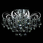 Хрустальная люстра СветМира на 3 лампочки со встроенной LED подсветкой рожков VL-2735/3+8 LED, фото 3