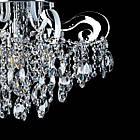 Хрустальная люстра СветМира на 3 лампочки со встроенной LED подсветкой рожков VL-2735/3+8 LED, фото 2