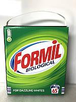 Порошок для стирки Formil biological для белого белья , 65 стирок, 4.225 кг