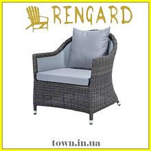 Мягкое кресло для дома Gloria, дизайнерское в стиле лофт.Стул для кафе,для ресторанов,для терассы,для кухни