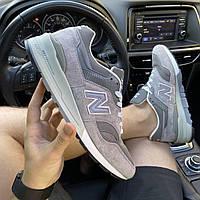 Кроссовки мужские New Balance 997 Gray. Стильные мужские серые кроссовки. ., фото 1
