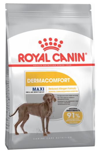 Корм для собак с чувствительной кожей