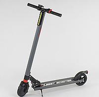 """Електросамокат 83325 (1) """"Best scooter"""", колеса 6,5 """", колір СІРИЙ"""