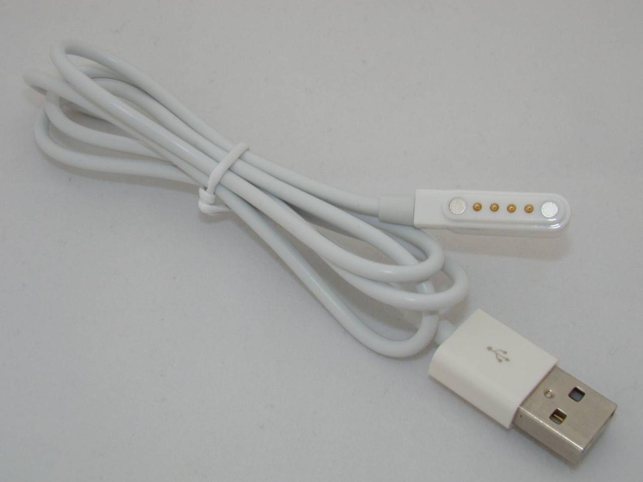 Магнітний USB кабель для смарт-годинника  No.1 D6 (50 см)