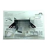 Промо материал для натяжных потолков. Образец профиля LumFer + каталог, фото 3