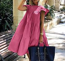 Платье женское свободный крой 42-46 рр.