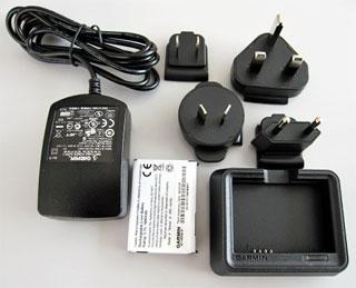Акумуляторна батарея + зарядний пристрій для батареї для nuvi 5xx