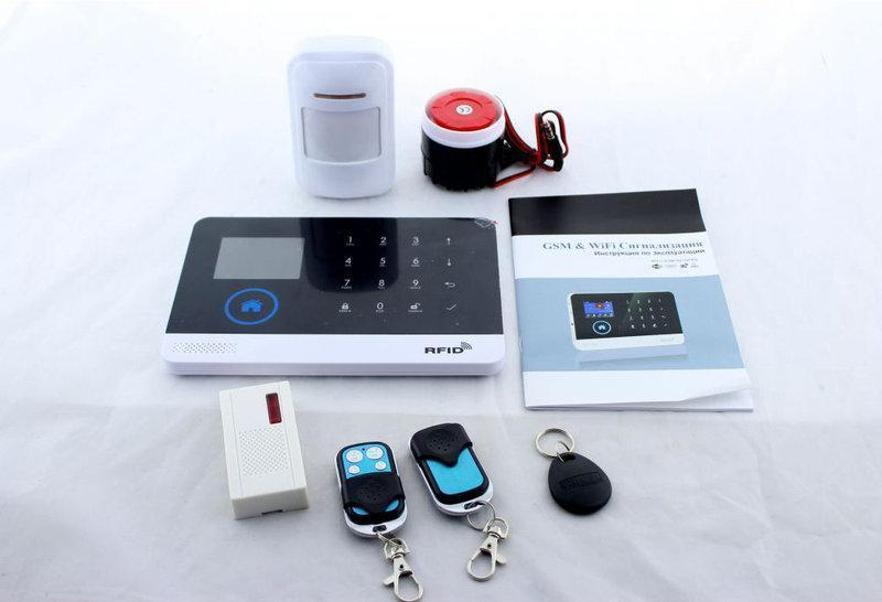 Сигнализация GSM+WIFI JYX G600 для дома, дачи и офиса