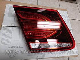 Mercedes E купе W207 W 207 рестайлинг фонарь в крышку багажника левый рестайлинг 2014+ новый оригинал