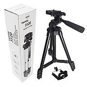 Штатив Tripod 3120 для фото-і відеокамери, для смартфона, тринога, висота - 102см