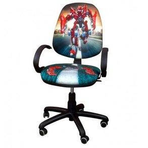 Крісло комп'ютерне дитяче Поло з дизайном