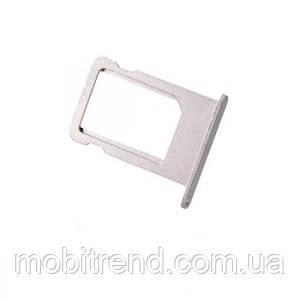 Сим держатель (SIM холдер) для iPhone 5 sim holder Белый Оригинал