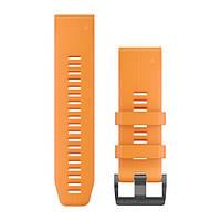 Ремінець QuickFit 26 для fenix 5X Plus та fenix 5X, помаранчевий