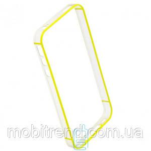 Чехол бампер Apple iPhone 4 Vser Желтый