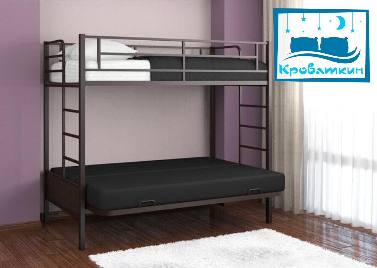 Двухъярусная кровать Дакар-1 90х190см Мадера