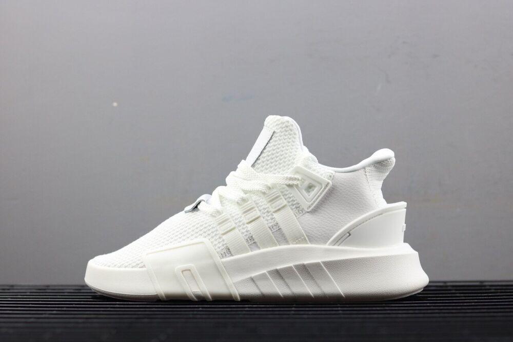 Женские кроссовки Adidas EQT в стиле Адидас Эквипмент БЕЛЫЕ (Реплика ААА+)