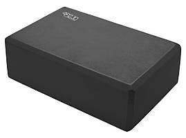 Блок для йоги 4FIZJO 4FJ1387 Black