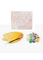 """Набор для творчества """"Рисование по номерам"""" Ravensburger 20х20см Зеленый, Серый, Желтый (DI66998269380)"""