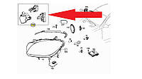 Ухо кронштейн крепление левой фары Mercedes ML W166 W166 новый оригинал