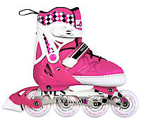 Роликовые коньки Nils Extreme NA13911A Size 39-42 Pink, фото 1