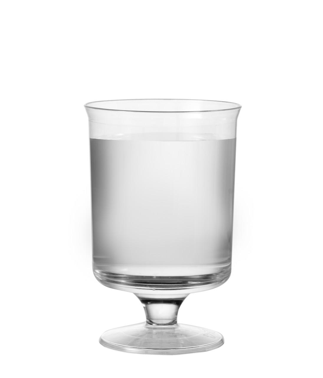 Бокалы одноразовые винные стеклопластик 10 шт 150 мл Capital For People
