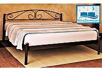 Металлическая кровать Верона 80х190см Мадера