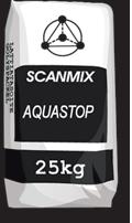 Гидроизоляция Scanmix AQUASTOP 25кг