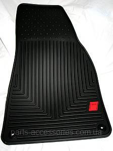 AUDI A4 B7 S4 коврики чёрные резиновые новые оригинал 2004-08