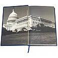 """Книга в шкіряній палітурці """"Бесіди біля каміна!"""" Франклін Делано Рузвельт, фото 7"""