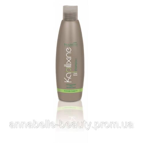 Nouvelle Cleanse Sense Shampoo Шампунь против перхоти с маслом эвкалипта 250 мл