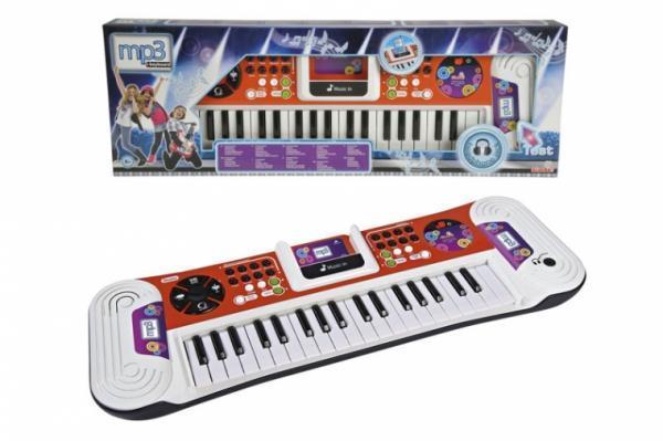 Музыкальный инструмент Синтезатор с розьемом для МР3-плеера 37 клавиш Simba 62 см (6832606)