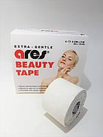 Кинезиологический тейп для лица Ares Beauty Tape 5м, белый