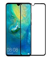Защитное стекло 2.5D для Huawei Mate 20 Full Glue (0.3mm, 2.5D, с олеофобным покрытием) Черный