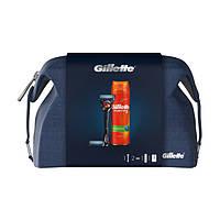 Подарочный набор Gillette Fusion ProGlide Flexball (бритва +2 кассеты + гель UltraSens 200 мл) 8275