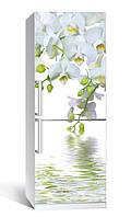 Самоклеющаяся виниловая пленка наклейка на холодильник IdeaX Оридея над водой 65х200 см