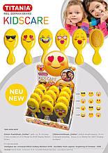 """Щётка для волос детская """"Smiley"""" 1330 KIDS BOX TITANIA"""