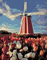 Набор картина по номерам Rosa Start техника акриловая живопись стандарт Старая мельница 35х45см (482