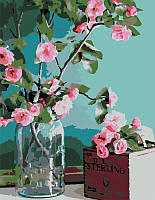 Набор картина по номерам Rosa Start техника акриловая живопись стандарт Нежность цветов 35х45см (482