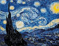 Набор картина по номерам Rosa Start техника акриловая живопись стандарт Звездная ночь 35х45см (48230