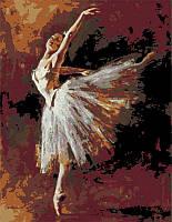 Набор картина по номерам Rosa Start техника акриловая живопись стандарт Танцовщица изгибается 35х45с