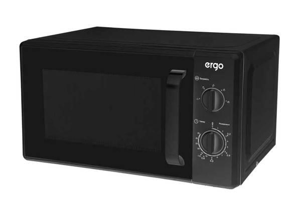 Мікрохвильова піч ERGO EM-2060 700 Вт Чорний, фото 2